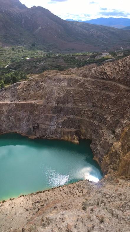 iron blow vista lago e cava