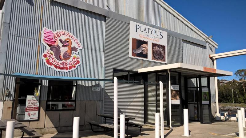 platypus house - monotreme centre beauty point