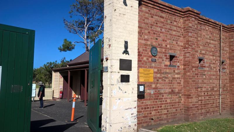 entrata del forte di queenscliff