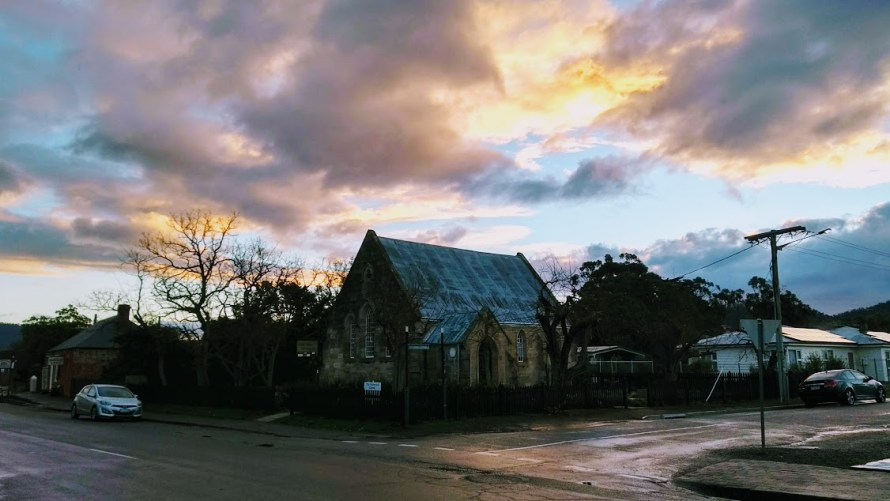 chiesa richmond tasmania