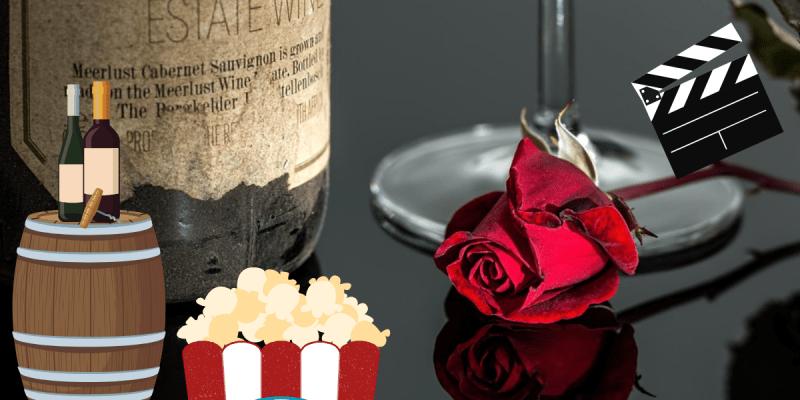 bere vino al cinema