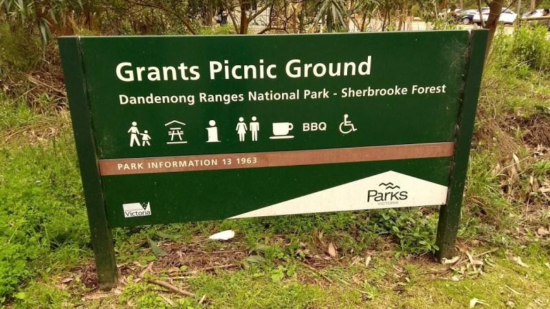 grants picnic ground cartello servizi