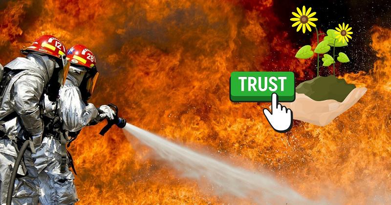 Quando tutto va in fiamme. Cambiare vita dopo un trauma