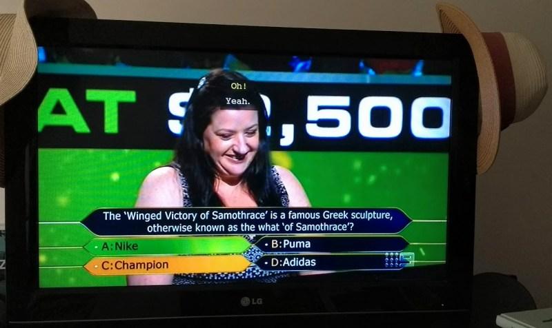 chi vuol essere milionario alla tv australiana