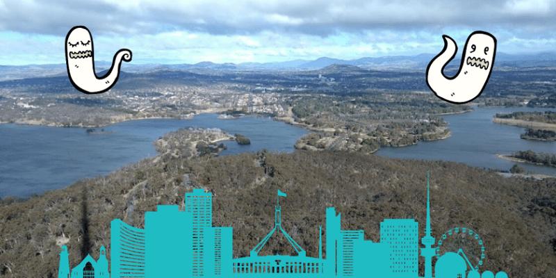 Visitare Canberra: fantasmi che cercano cosa vedere