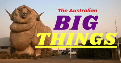 big things australiane iconiche: cosa, dove e quante sono