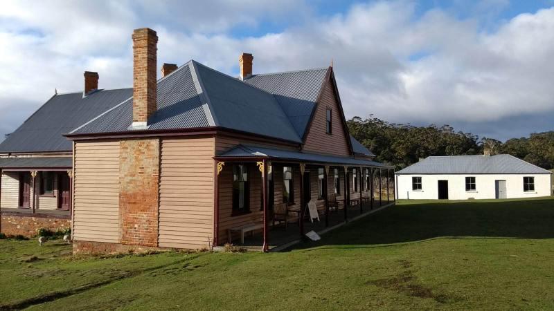 edifici d'epoca da visitare a Darlington, Maria Island