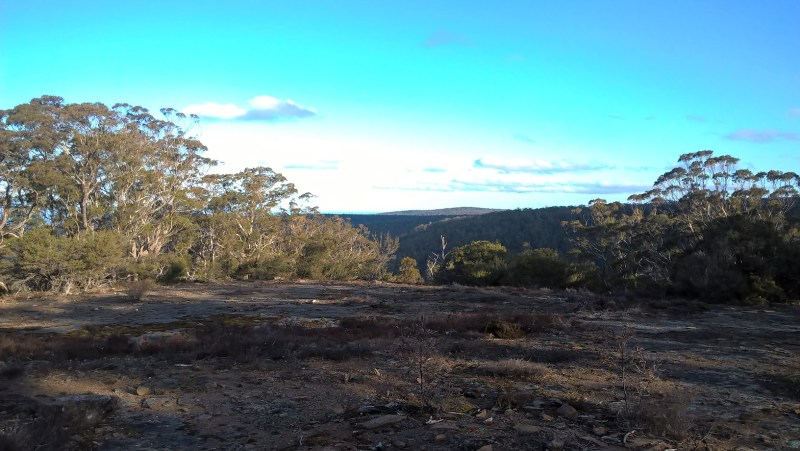 Tasmania, Lost Falls: panorama naturale