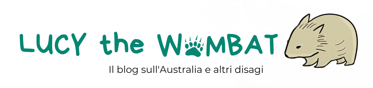 Lucy the Wombat blog logo