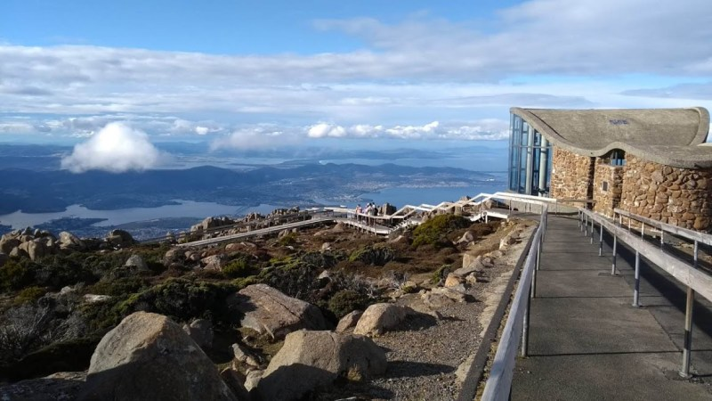 la bellezza della Tasmania (panorama)