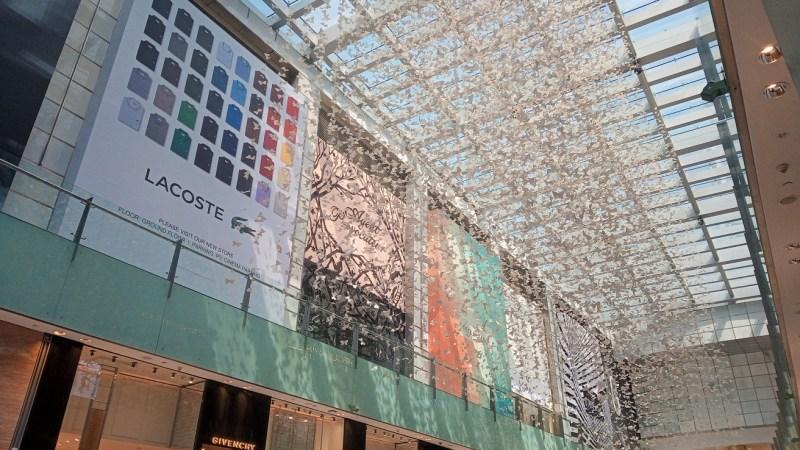 centro commerciale Dubai Mall decorazioni interne