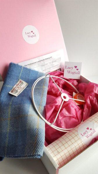 Harris Tweed Lampshade Making Kit