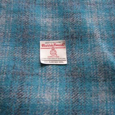 Turquoise Purple Grey Harris Tweed