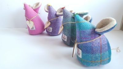 Harris Tweed Mice