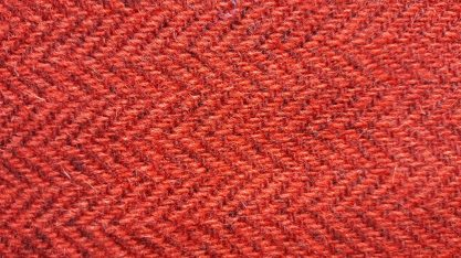 Harris Tweed -Herringbone Red