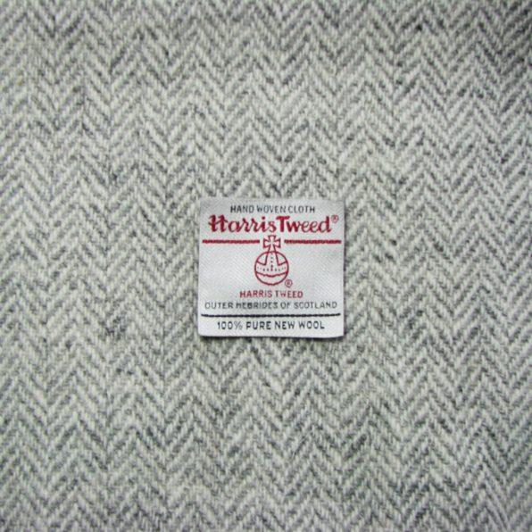 Light Grey/White Herringbone
