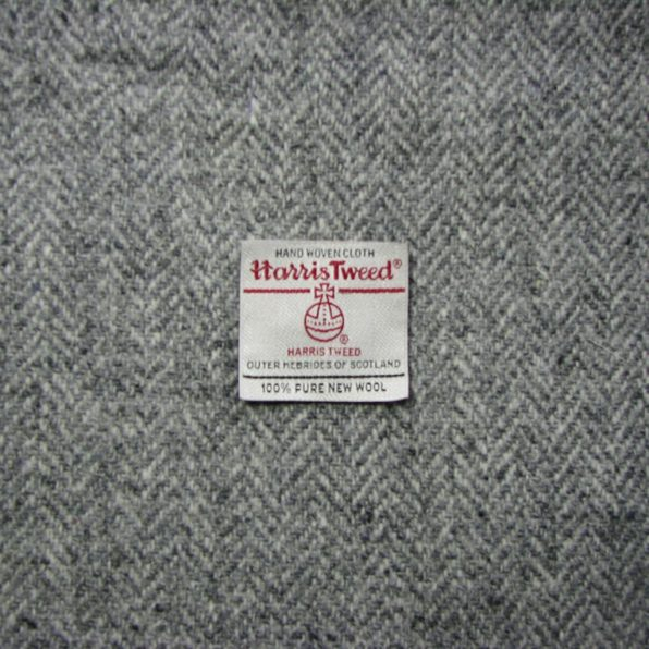 Charcoal/Light Grey Herringbone