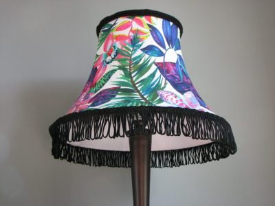 Tropical Soft Bodied Lampshade