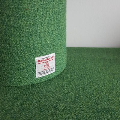 Mid Green Lampshade with Cloth