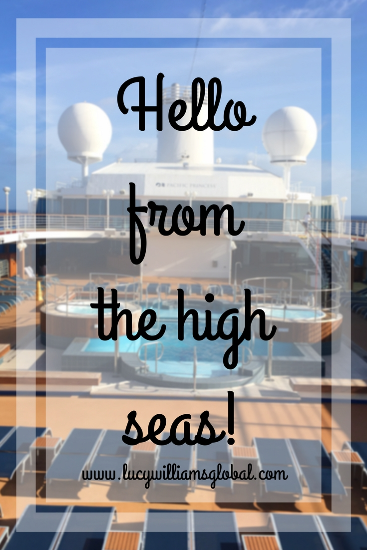 Hello from the high seas! - Lucy Williams Global