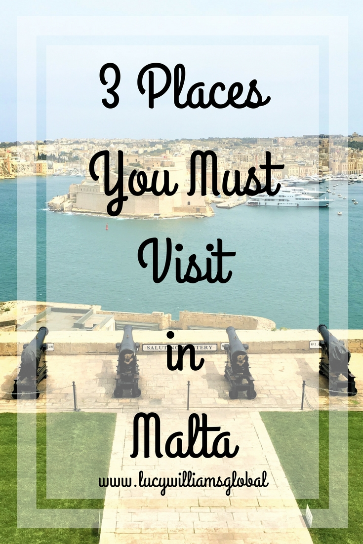 3 Places You Must Visit in Malta - Lucy Williams Global