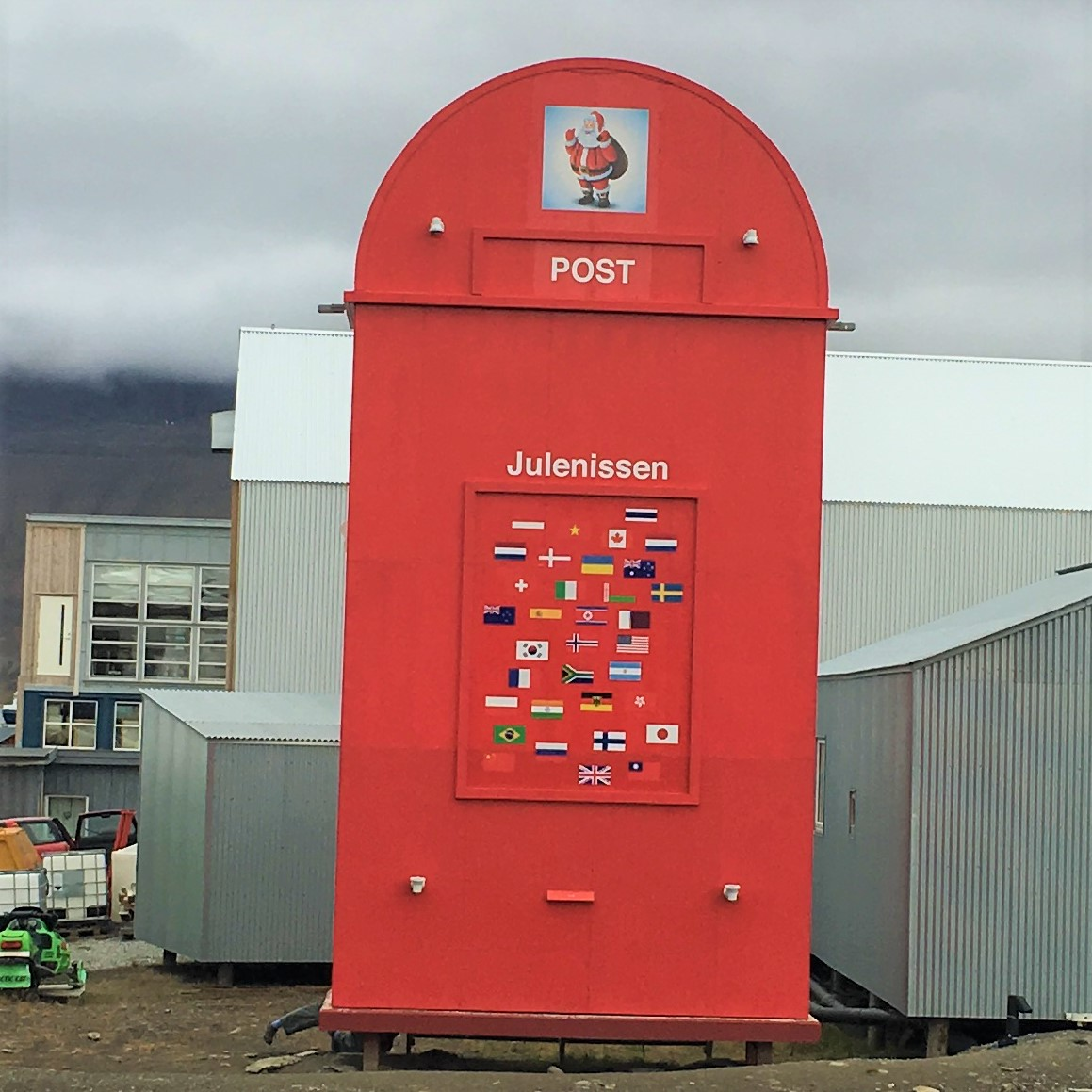 Santa Post Box
