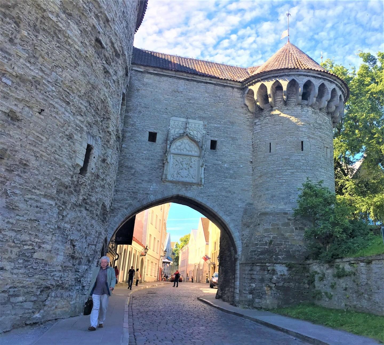 Entrance to Tallinn