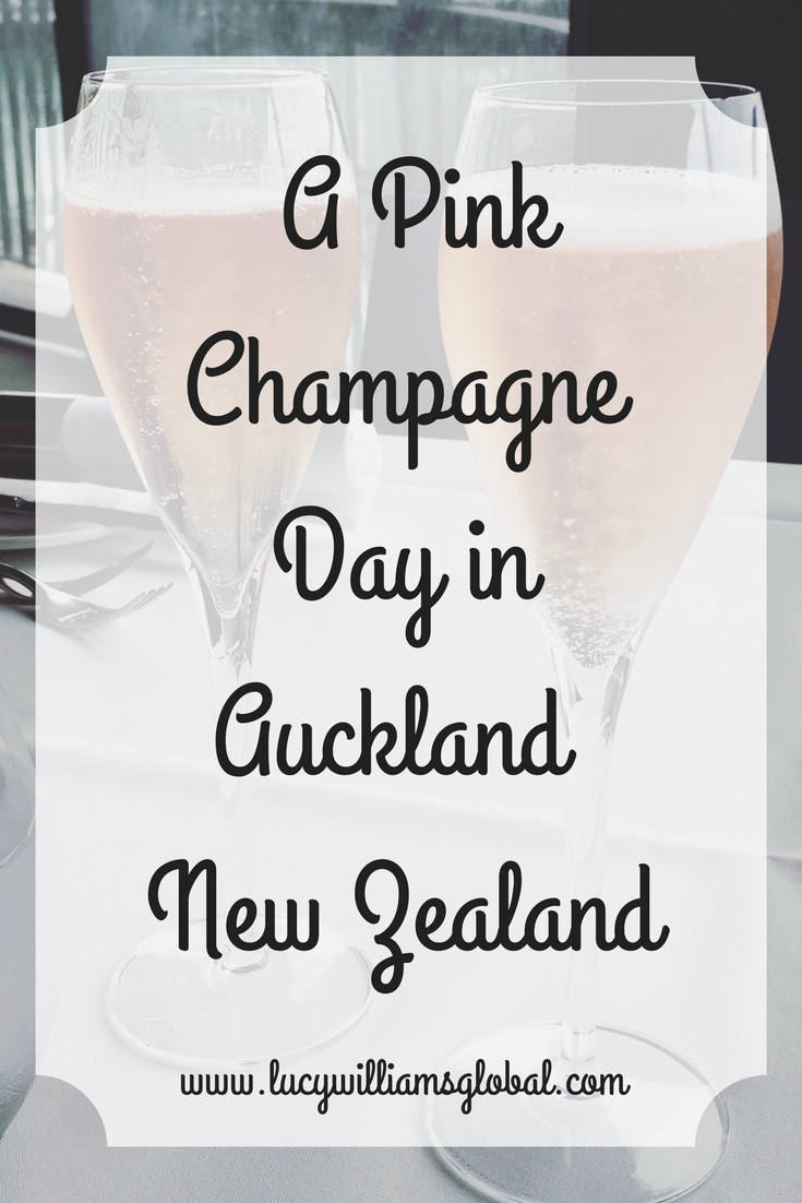 A Pink Champagne Day in Auckland New Zealand
