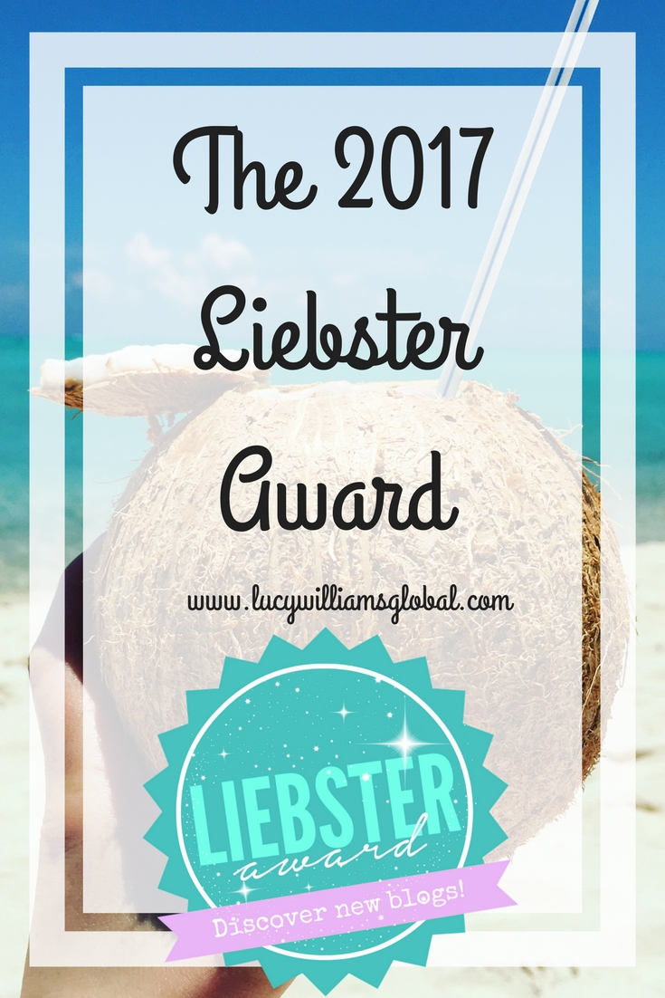 The 2017 Liebster Award - Lucy Williams Global