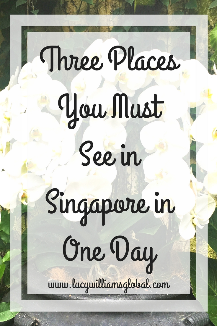 Three Places You Must See in Singapore in One Day