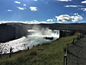 Godafoss Waterfall - Lucy Williams Global