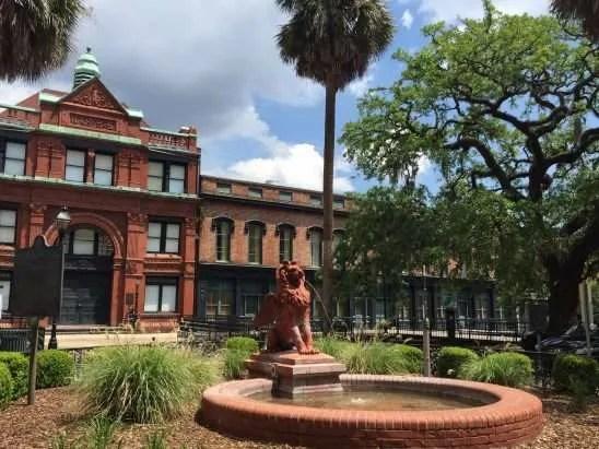 The Historic District of Savannah Georgia USA