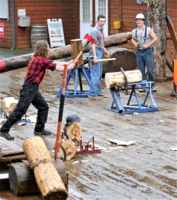 Great Alaskan Lumberjack Show Ketchikan Alaska - Lucy Williams Global