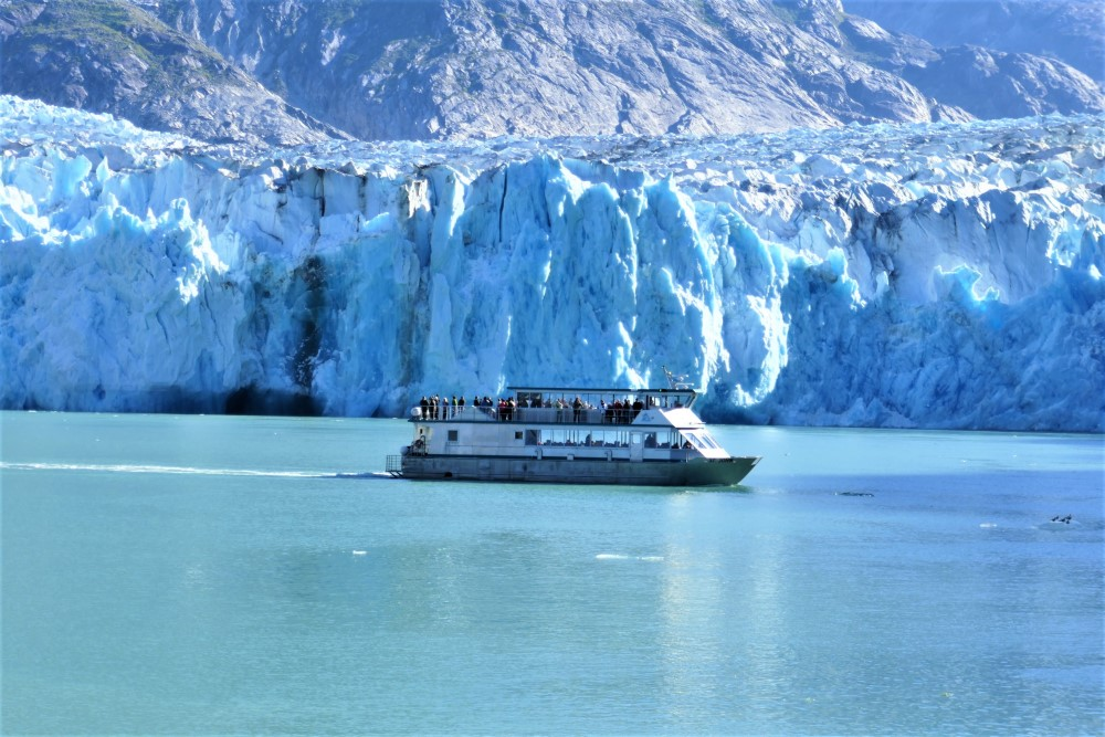 Dawes Glacier Boat Endicott Arm Alaska Glacier Tour - Lucy Williams Global