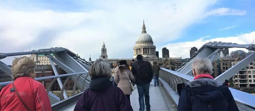 Millenium Footbridge A Local's Guide to London UK