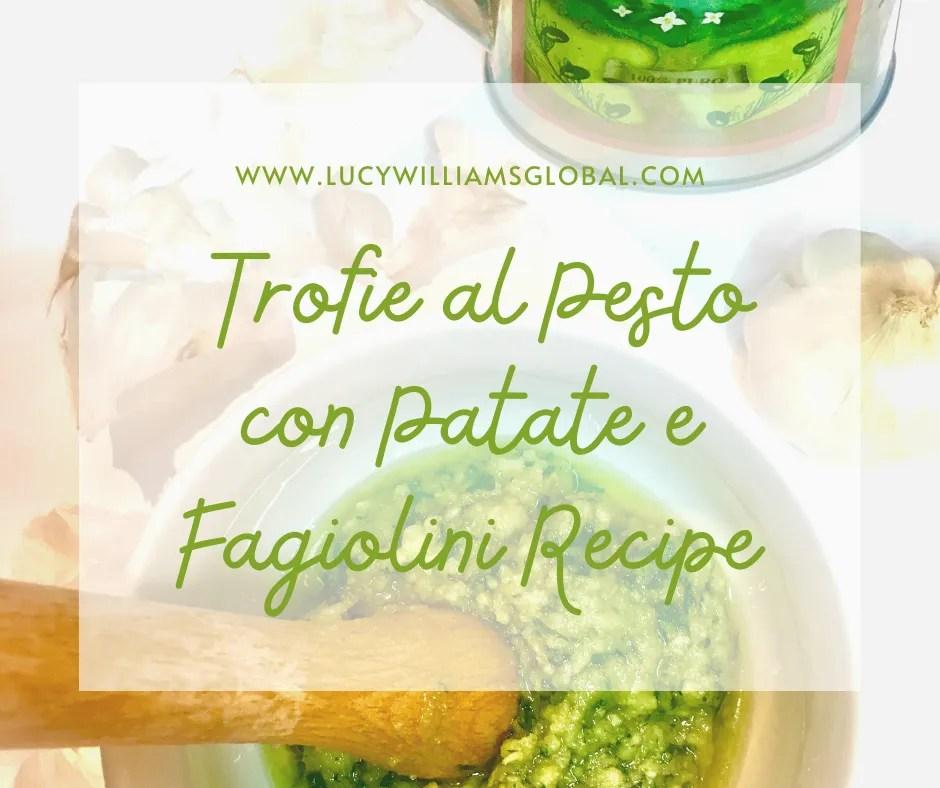 Trofie al Pesto con Patate e Fagiolini Recipe