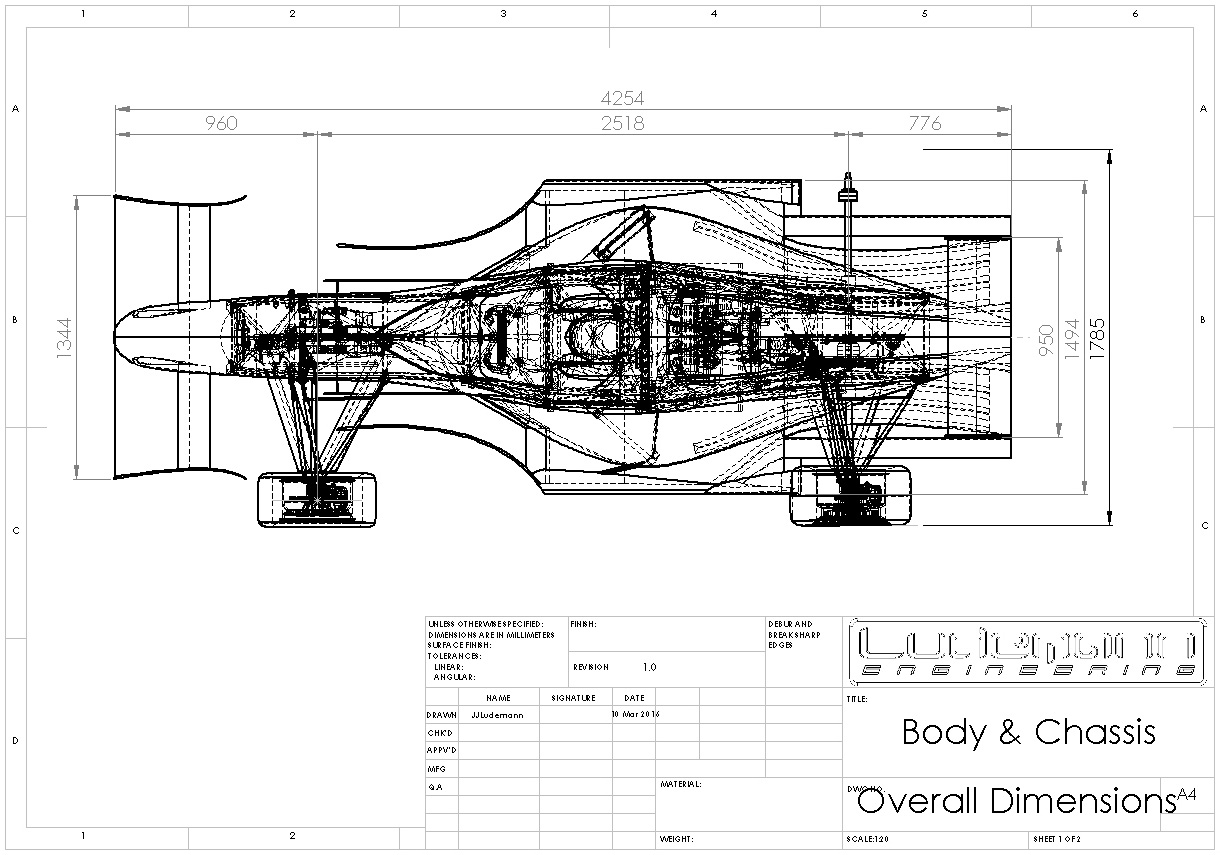 Design Race Truck Chassis Dimensions Pictures To Pin On