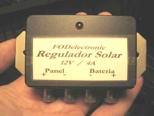 A Simple Solar Panel Regulator
