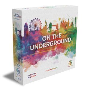 On the Underground box 3D - London