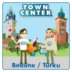 Town Center: Beaune / Turku logo