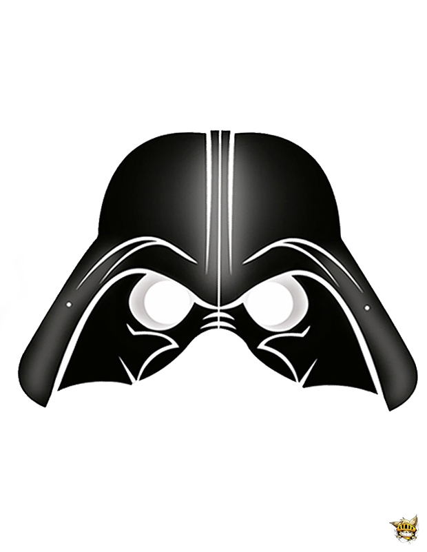 Masque Dark Vador Est Un Decoupage De Star Wars