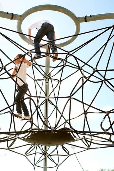 redes-pyramide de corde