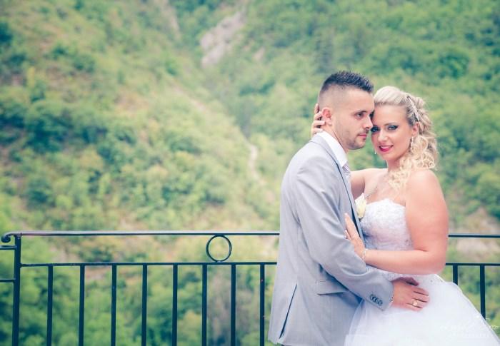 Mariage à Castagnier – Nice (Alpes Maritimes 06) – Jennifer & Sébastien