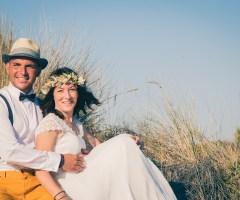 Estelle & Bruno – Mariage en bord de mer en Camargue