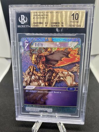 Getting FF TCG cards graded