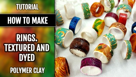 Textured & Dyed Rustics Rings