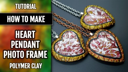 Paid Tutorial: Photo Frame Heart Pendant