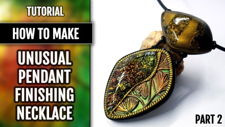 Patron $15+ Video Tutorial: Necklace with unusual shapes of beads