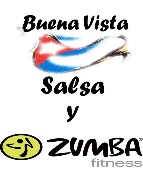 Affiche Salsa Zumba - Vie associative