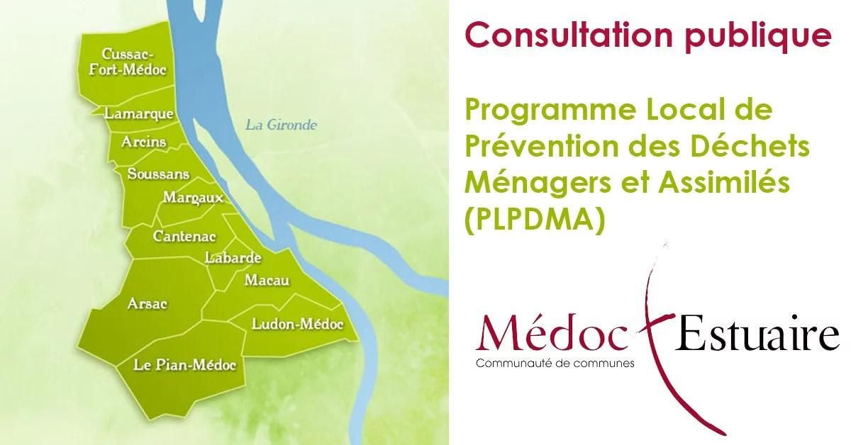 Consultation publique Programme Local de Prevention des Dechets Menagers et Assimiles Une - Consultation publique - Programme Local de Prévention des Déchets Ménagers et Assimilés (PLPDMA)